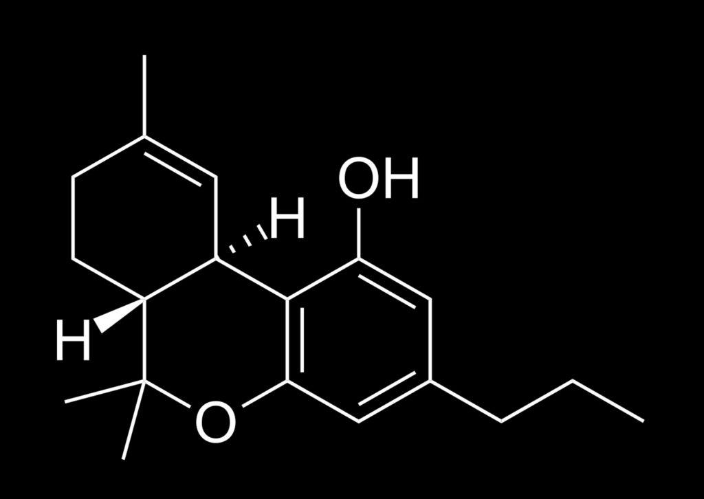 la tetrahidrocannabivarina (THCV)