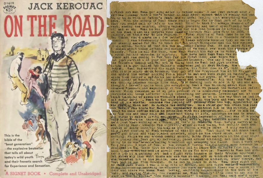 Image result for on the road book cover original
