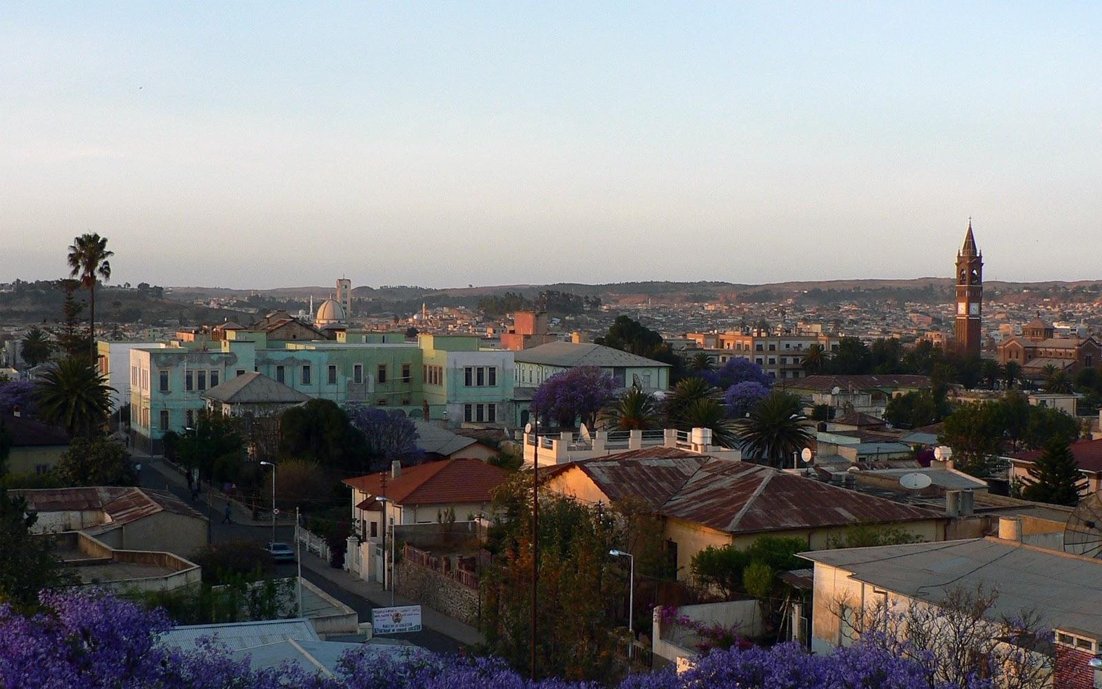Eritrea's capital city Asmara - Sensi Seeds Blog