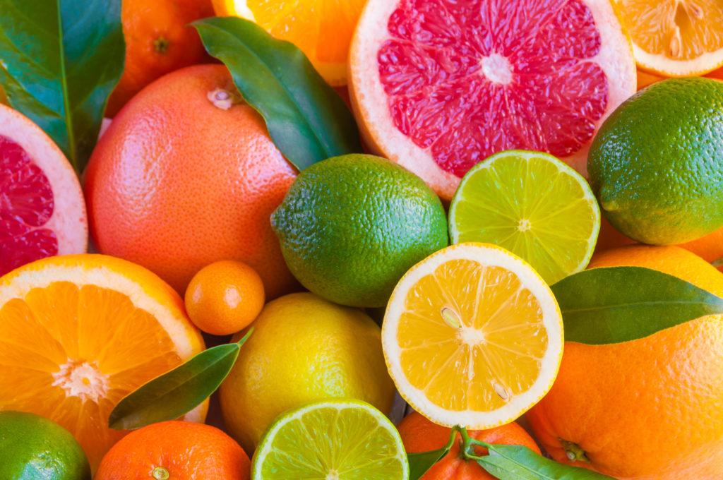 Al igual que el cannabis, los cítricos contienen limoneno, linalol, citral, y terpineno