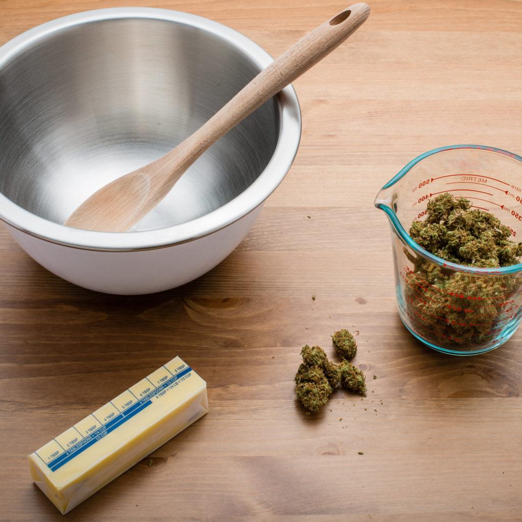 Cannabis in hartige gerechten