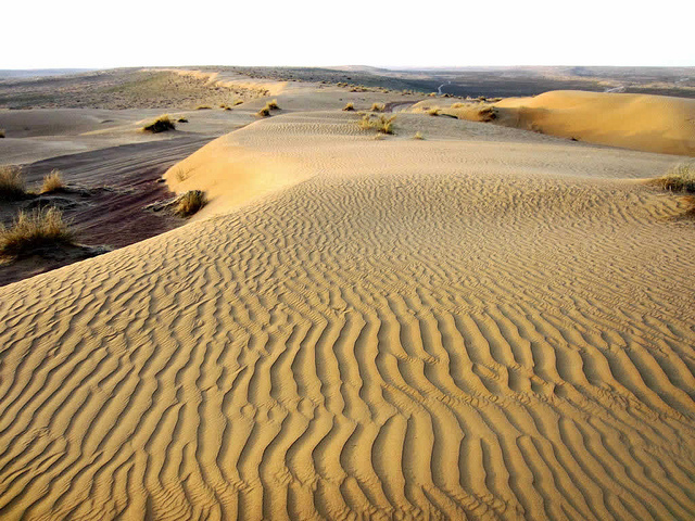 05 - Around 80% of the total area of Turkmenistan is comprised of the Karakum desert