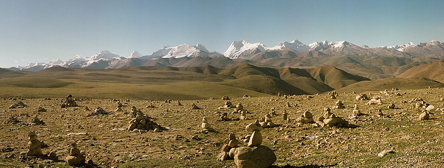 Cannabis may have originated in the harsh cold-desert regions north of Tibet (© Andrey Salikov)