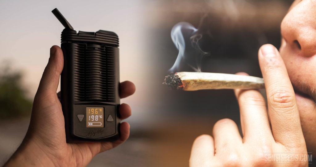 Marihuana Verdampfen