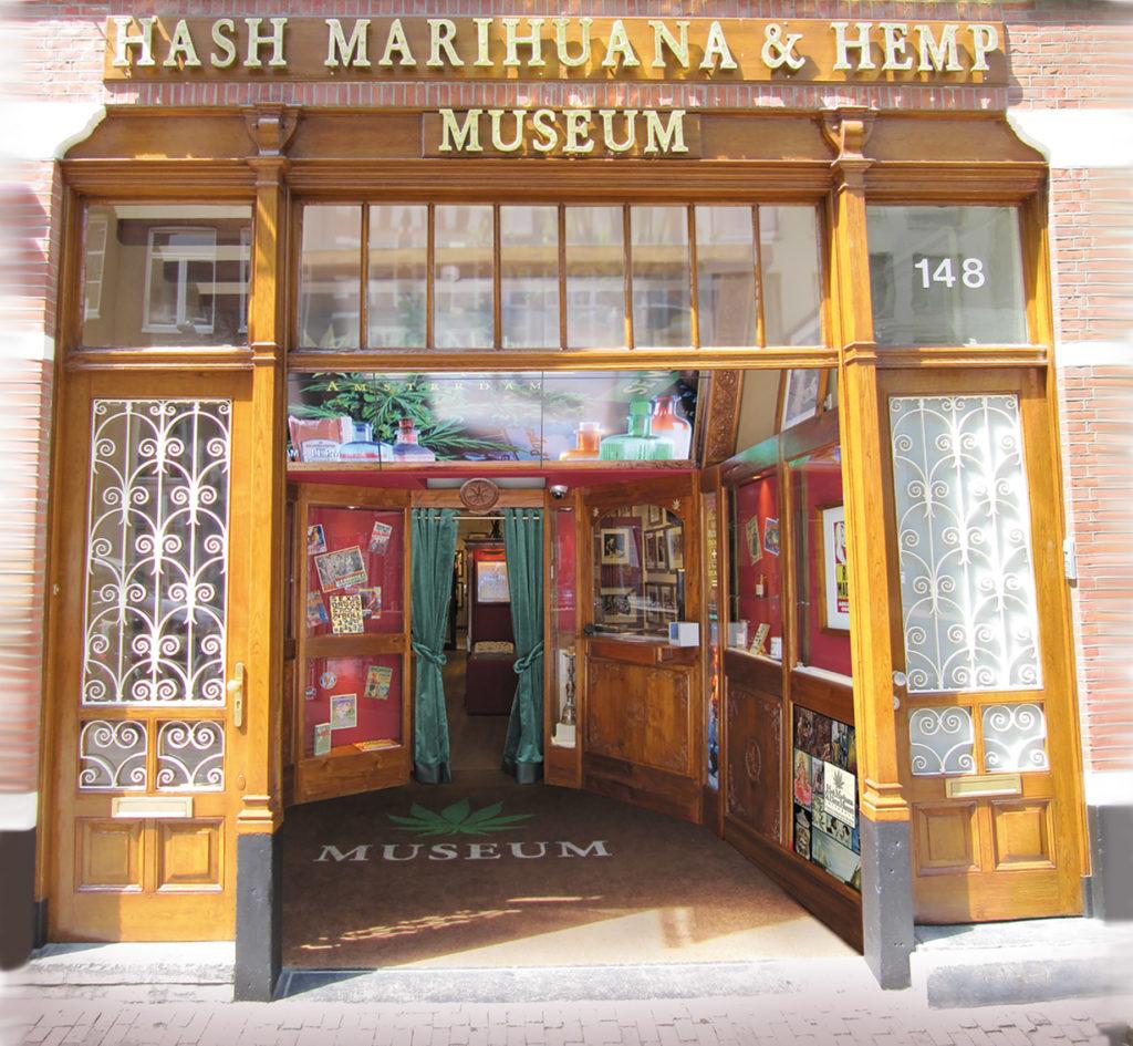 Het Hash Marihuana & Hemp Museum in Amsterdam