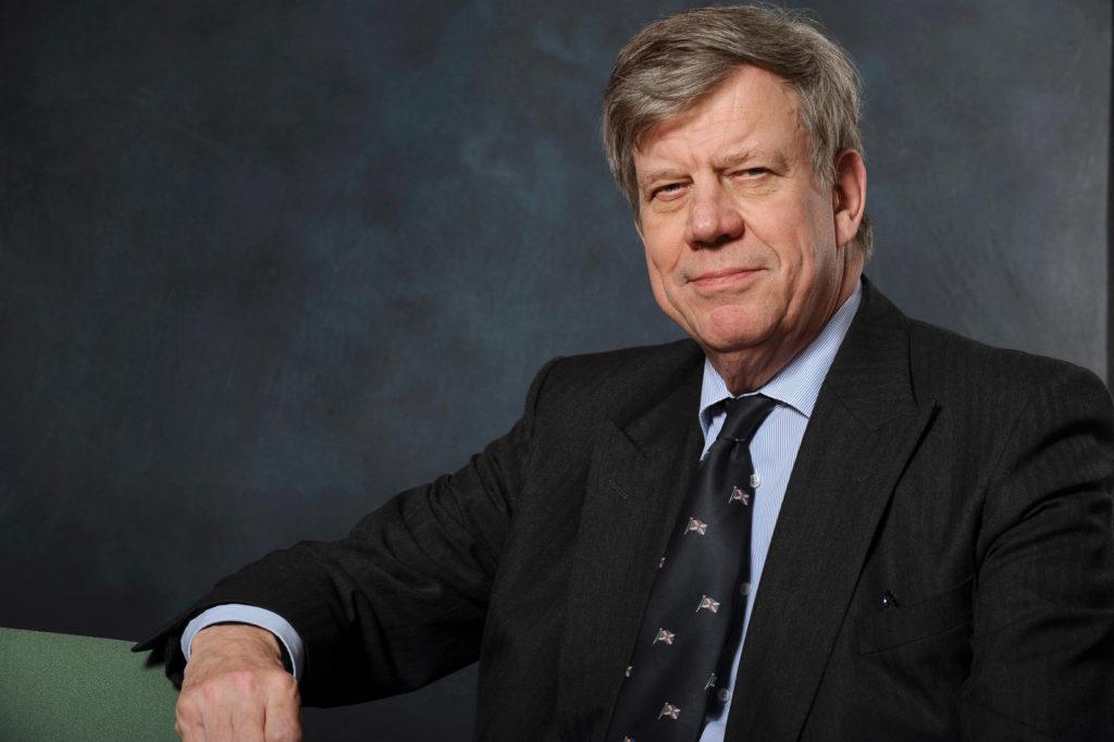 Der niederländische Ex-Justizminister Ivo Opstelten. Er hat viel zu sagen uber Cannabis in den Niederlanden.