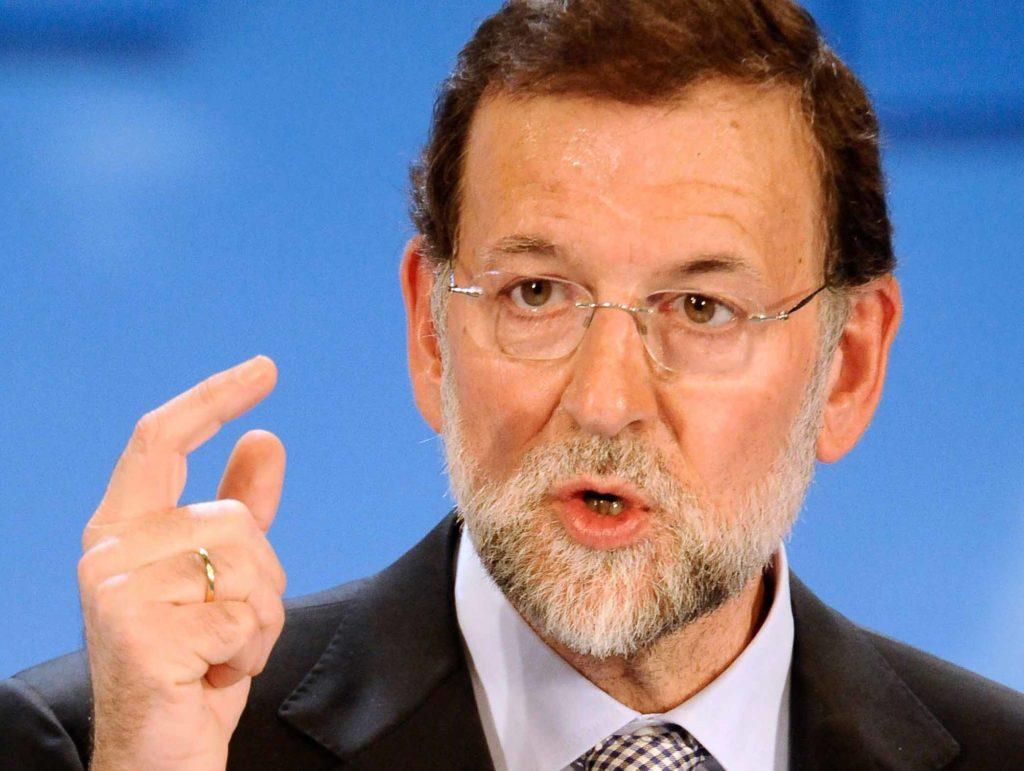 Der Präsident von Spain, Mariano Rajoy