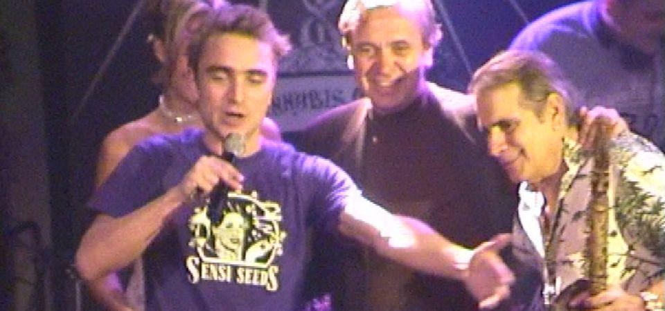 Ravi Spaarenberg @ High Times Cannabis Cup 2003