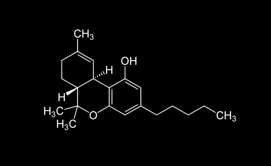 Ein weiteres sehr bekanntes Cannabinoid ist das THC, das psychoaktive Effekte hat