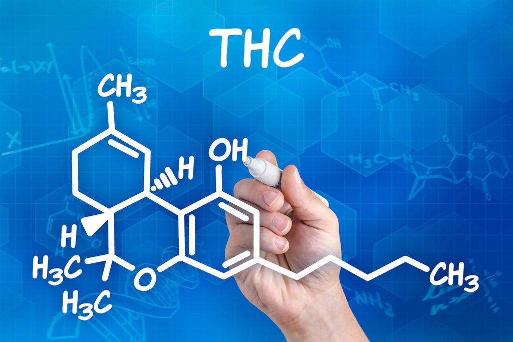 Otro de los cannabionoides más populares es el THC, que tiene efectos psicoactivos