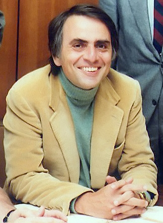 Carl Sagan, American astronomer and popularizer of science (1934-96)