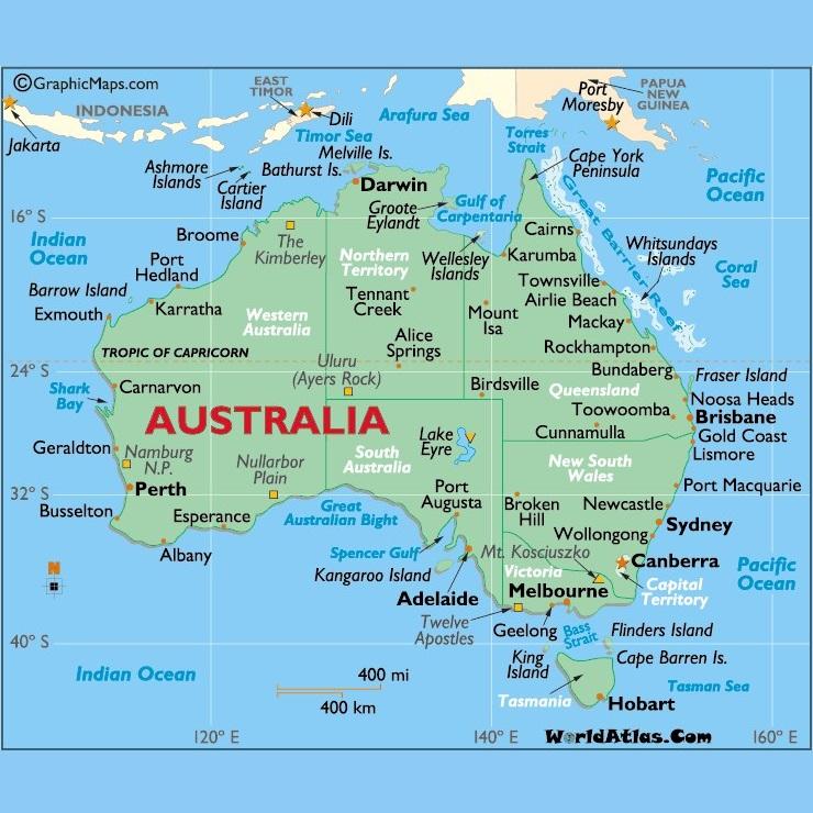 Australia Oceania: Blog Posts