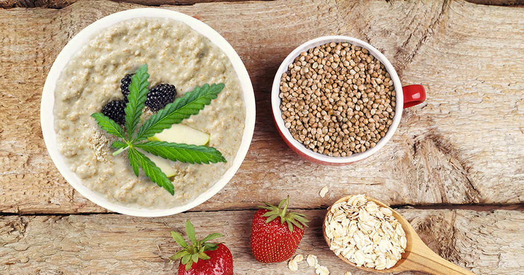 Hemp seed porridge - Sensi Seeds blog