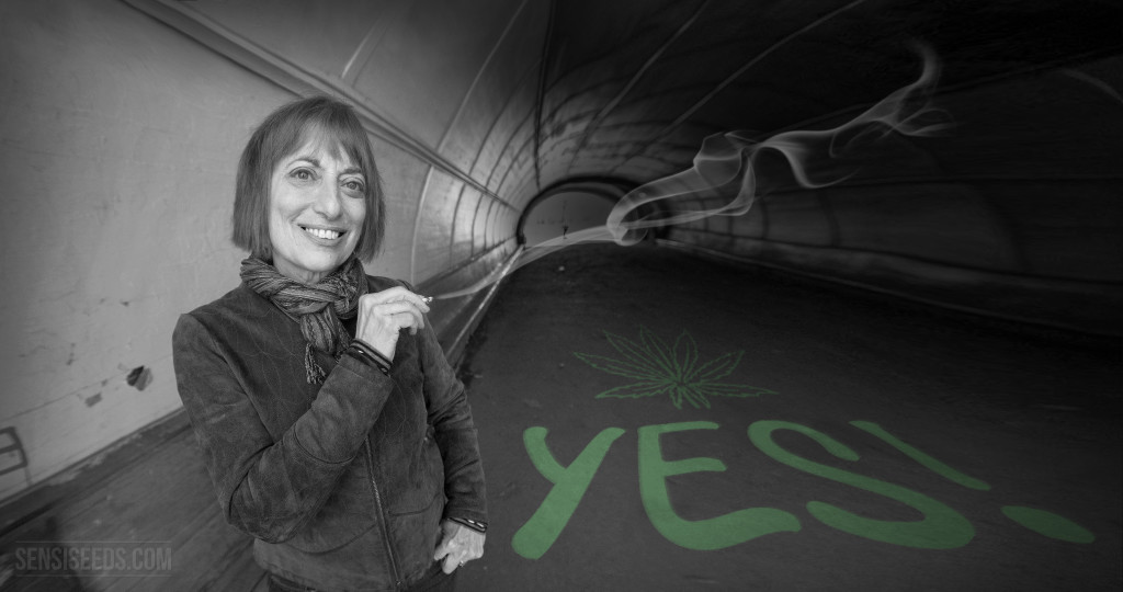 Catherine Hiller said yes to cannabis