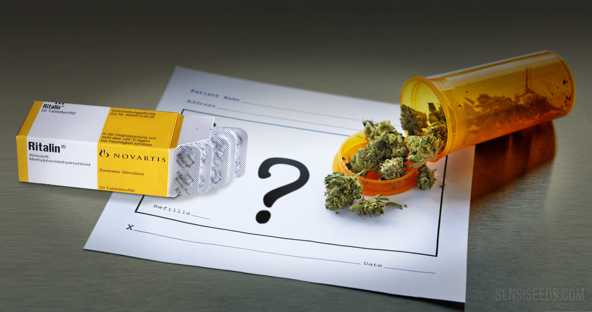 ADHD and the Cannabis vs  Ritalin Debate