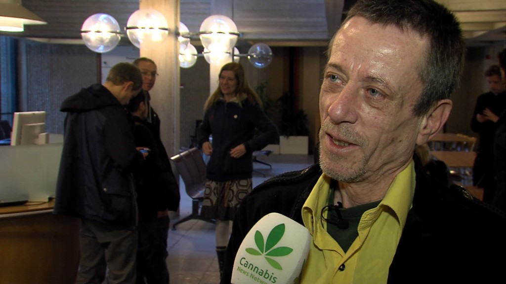 "Rudolf Hillebrand: ""The Mayor of Amsterdam is going to see if he can arrange a space where I, possibly with more patients, can grow cannabis."""