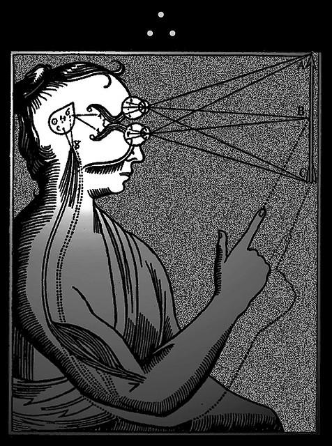 Die Epiphyse wurde lange als Sitz des Bewusstseins beim Menschen angesehen (Dean Terry)