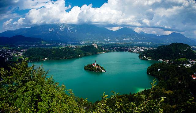 La Slovénie est un magnifique petit pays au climat alpin méditerranéen (© jsouthorn)