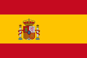Two-dimensional image of the Spanish flag
