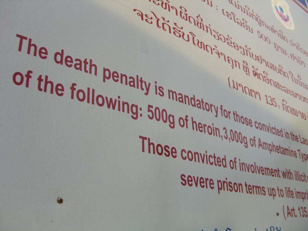 Australien liegt in einerRegion mit Staaten, die mit die restriktivste Drogenpolitik der Welt verfolgen und in denen für Drogendelikte die Todesstrafe verhängt wird (CC. eric molina)