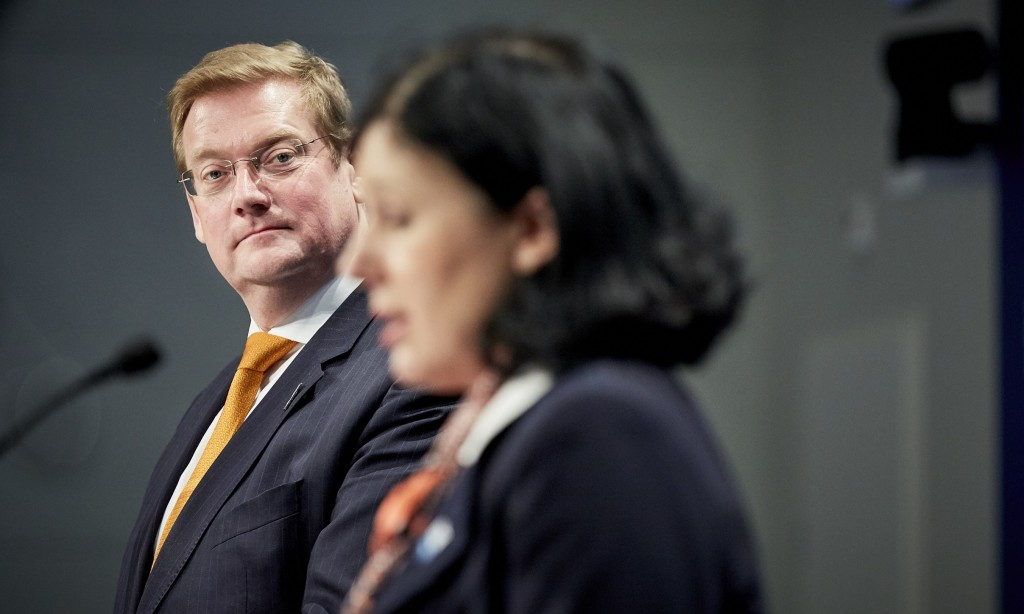 Ivo Opstelten's successor Ard van der Steur has so far maintained his paradoxical policy position. (Photo: M. Beekman)