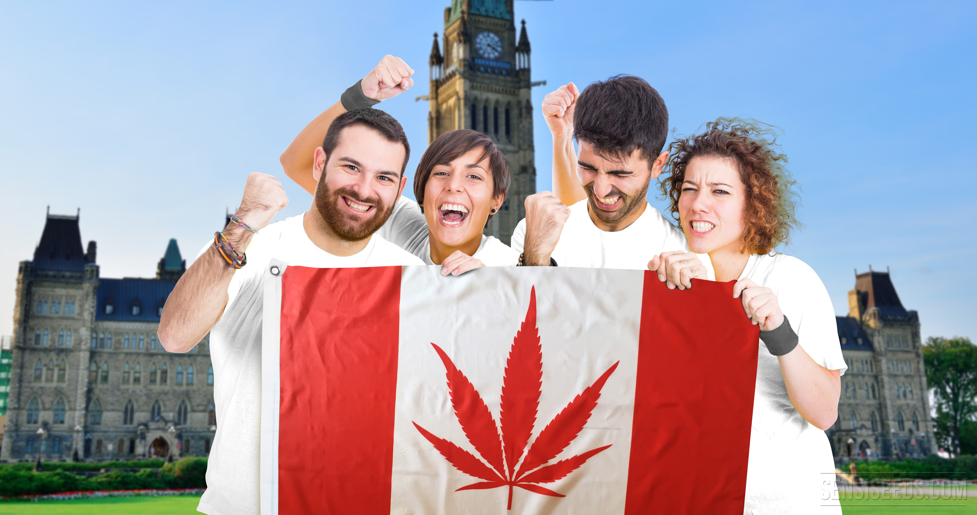 NEWSFLASH: Canada announces project to legalize recreational