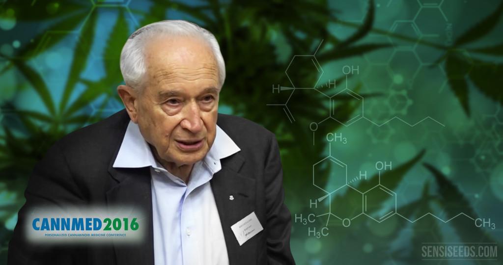 Cannabinoide und die personalisierte Medizin: CannMed 2016 zeichnet Dr. Mechoulam für sein Lebenswerk aus
