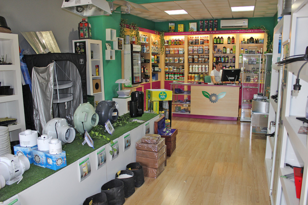 Many growshops have adjusted their range so that they narrowly remain unaffected