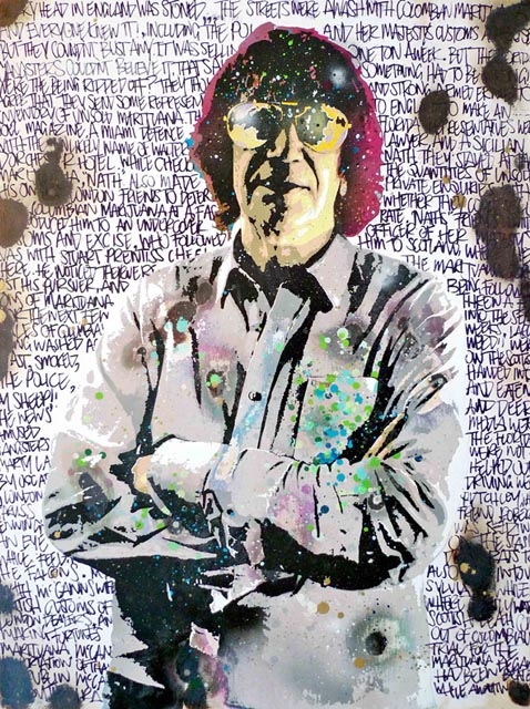 Portrait of Howard Marks by Goldie