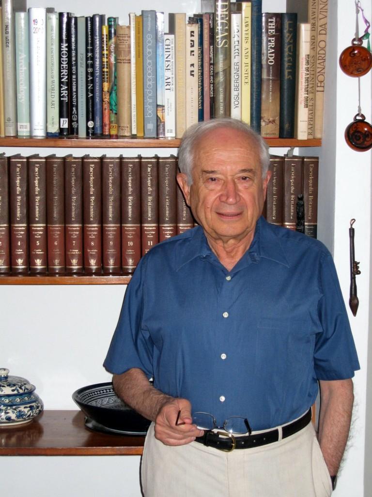 Raphael Mechoulam begon tientallen jaren geleden in Israël een traditie van cannabisresearch