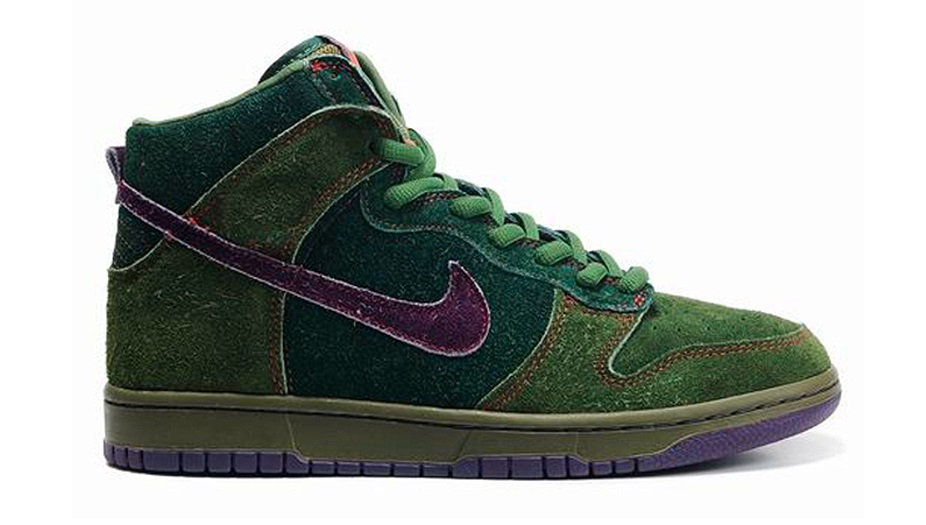Nike SB Dunk High Skunks