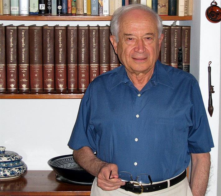 """El científico israelí, más popularmente conocido como """"El Padre de la Investigación de la Marihuana"""""""