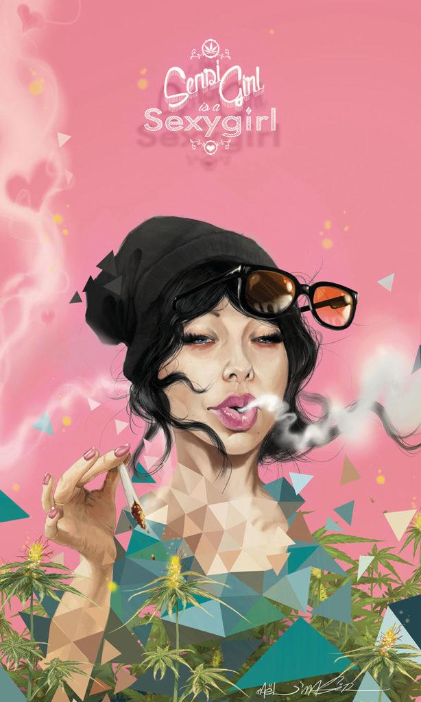 Sensi Seeds Cannabis Art Contest II