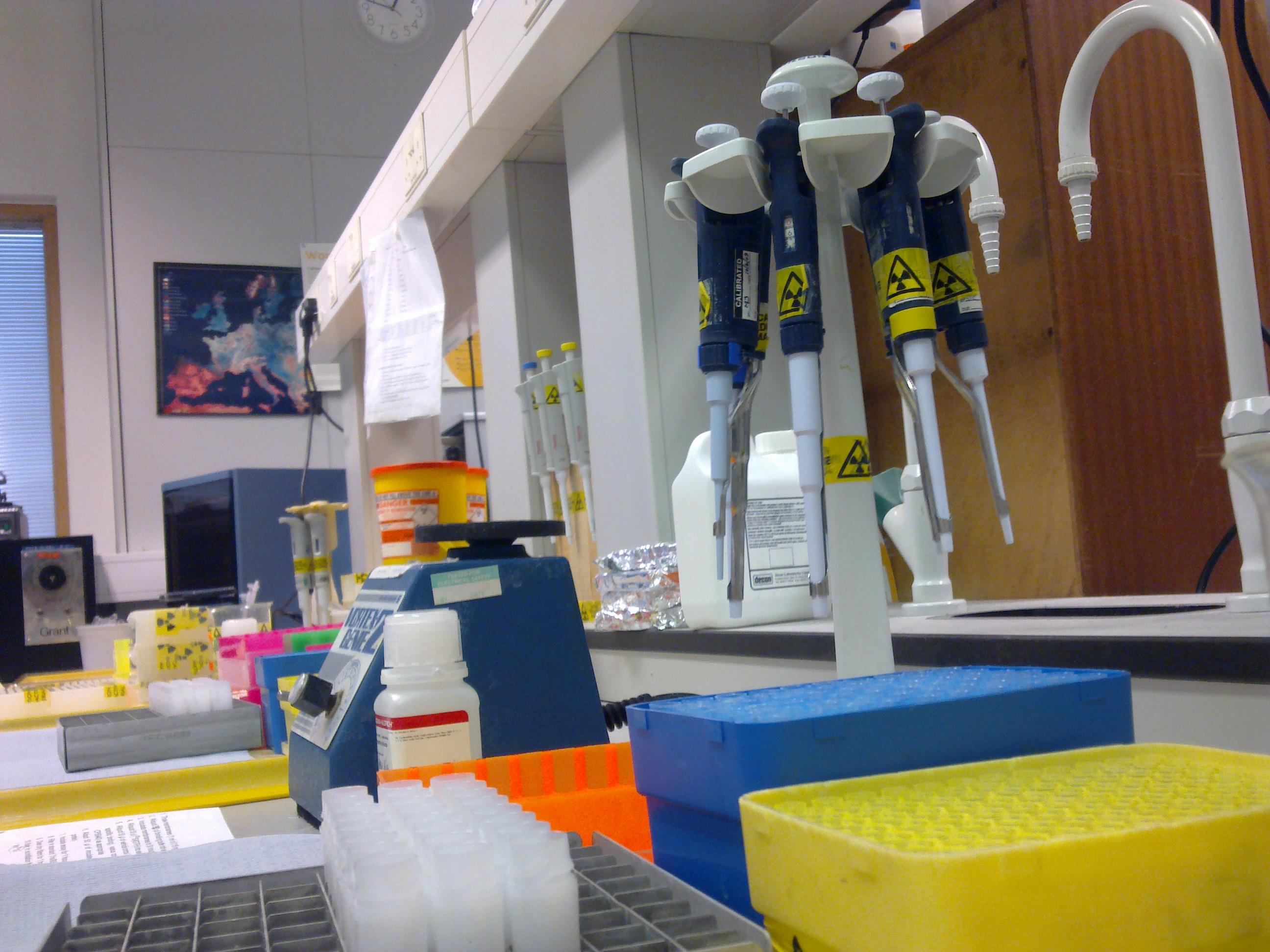 Laboratorio dedicado al estudio de los cannabinoides (CC. Vincent Li)