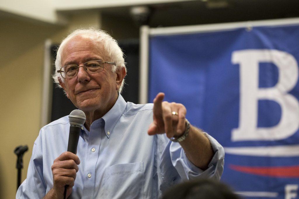 Bernie Sanders, candidato demócrata en las primarias a la presidencia de los EEUU (CC. Phil Roeder) - Sensi Seeds