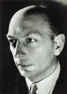 Henri Michaux, ca. 1936-38 in Buenos Aires, Fotografie von Walter Benjamins Freundin Giséle Freund
