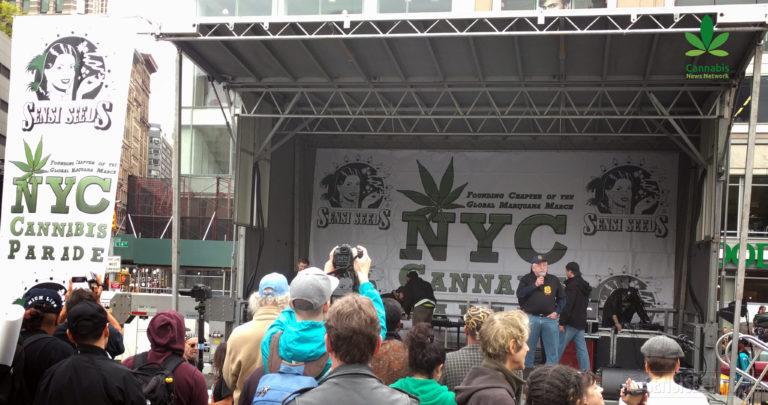 NYC Cannabis Parade 2016 [VIDÉO]