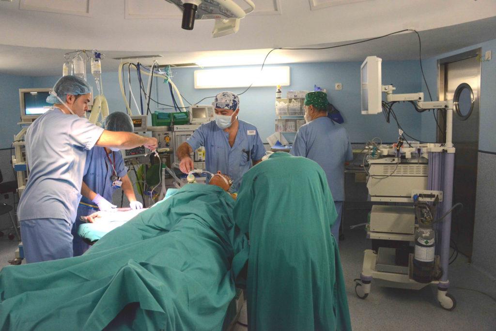 Die Organe oder Gewebe eines Transplantats können von lebenden Spendern gespendet werden (CC: Comunidad de Madrid)