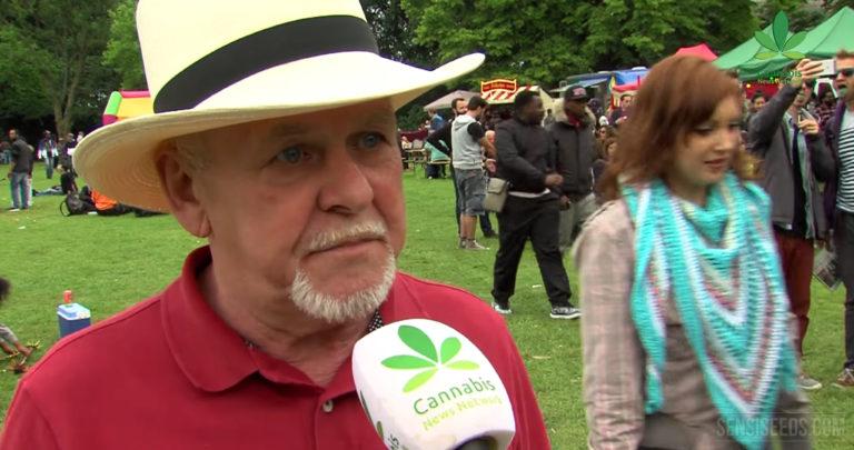 Vidéo : Rick Simpson au Cannabis Liberation Day à Amsterdam