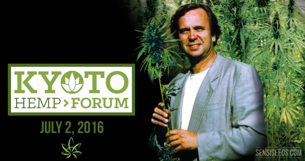 Ben Dronkers at Kyoto Hemp Forum 2016