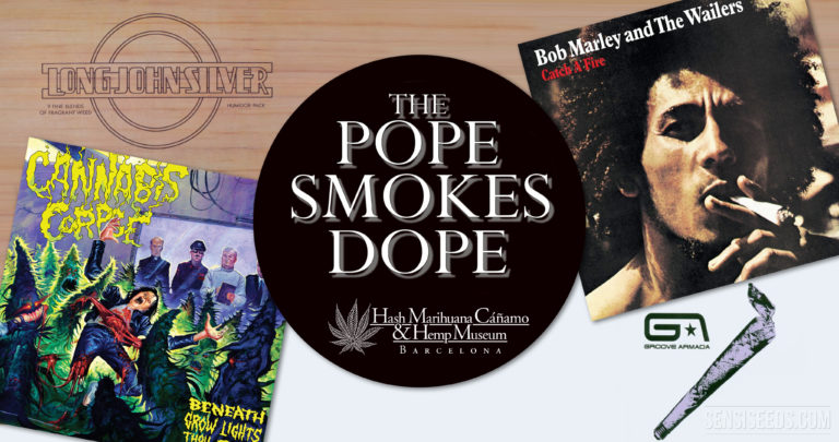 Didn't you know? The Pope Smokes Dope in Barcelona