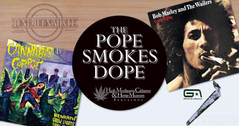 Vous ne le saviez pas ? The Pope Smokes Dope à Barcelone