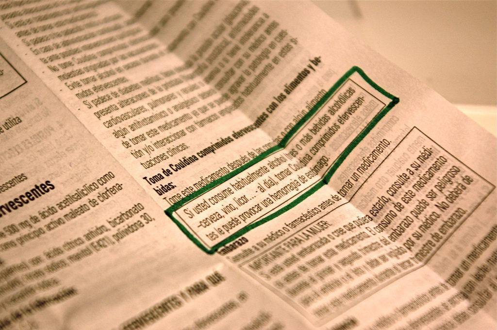Les sachets de cannabis devront obligatoirement inclure une fiche médicale, comme tous les médicaments légaux (CC. gaelx)