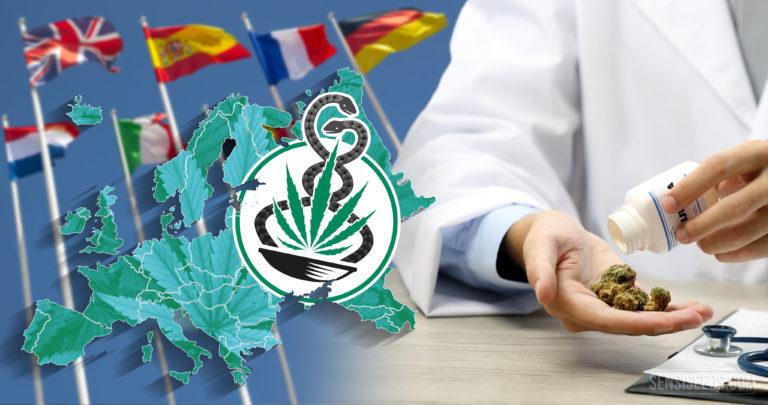 La situation du cannabis médicinal en Europe – aperçu complet