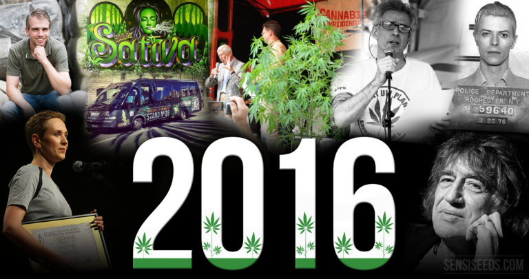 Sensi Seeds Cannabis News Review 2016 part one