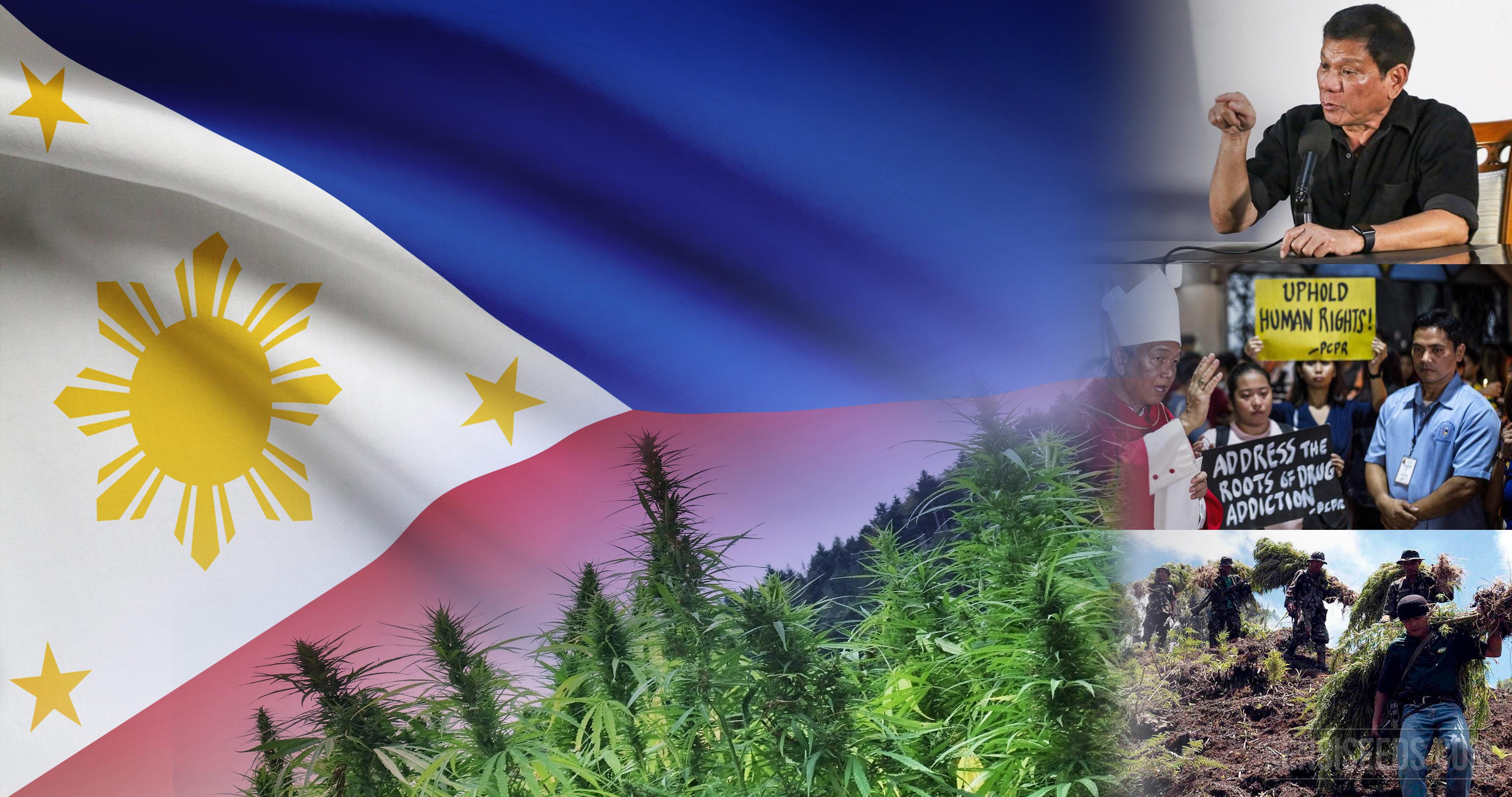 Cannabis et guerre philippine contre les drogues