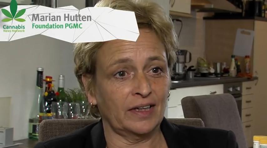 Marian Hutten, presidenta del PGMCG (una organización sin ánimo de lucro de pacientes de cannabis medicinal)