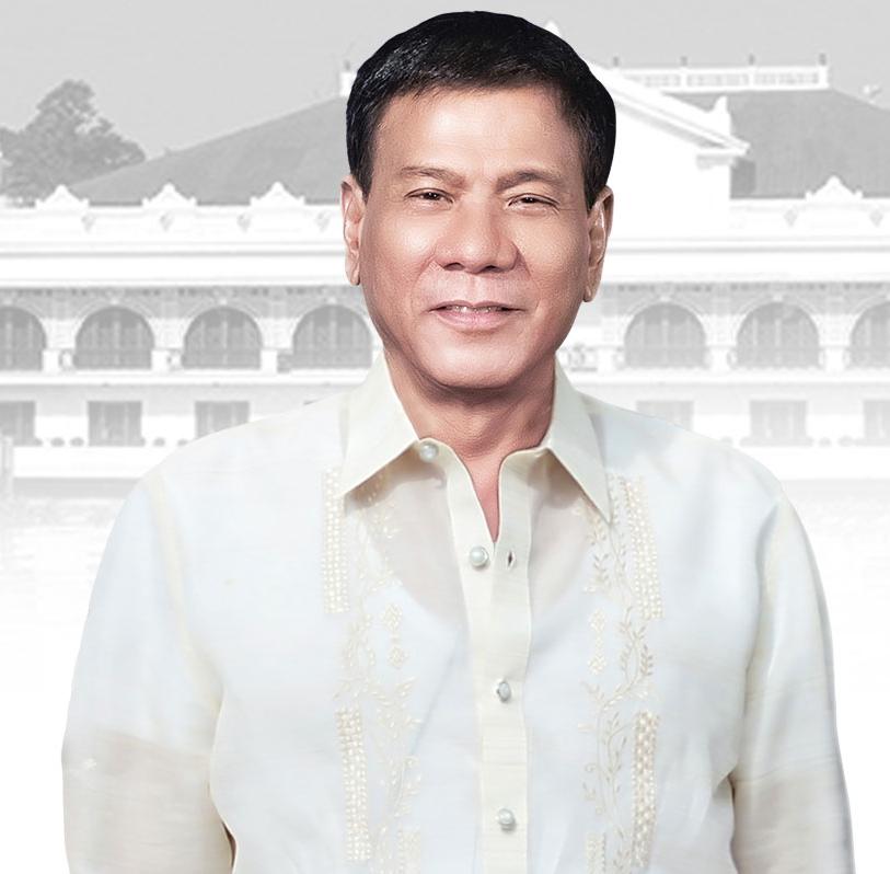 Rodrigo Duterte, de 16e president van de Filipijnen (© Wikimedia Commons)