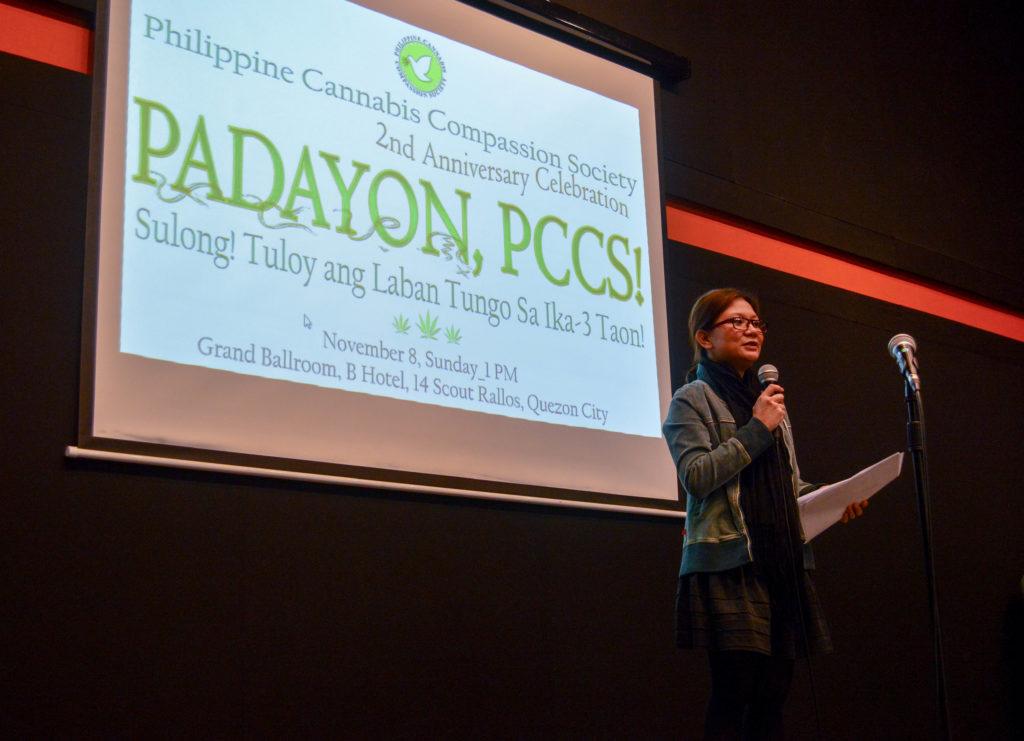 Kimmi del Prado, founder of the Philippine Cannabis Compassion Society (© PCCS)