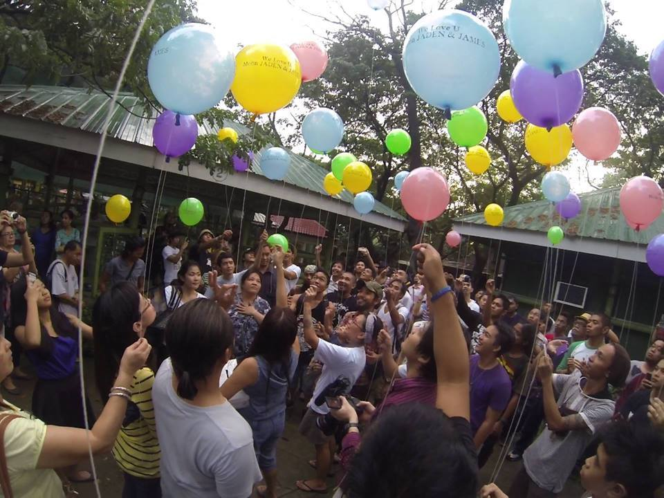 """""""A Celebration of Life & Hope"""" in memory of Moon Jaden (© PCCS)"""
